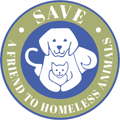 SAVE - A Friend to Homeless Animals logo